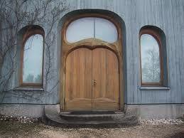 Anthroposophical architecture. Near Goetheanum, Dornach, Switzerland