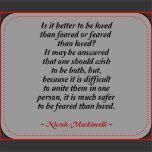 Niccolo Machiavelli Quotation Mouse Pad | Zazzle