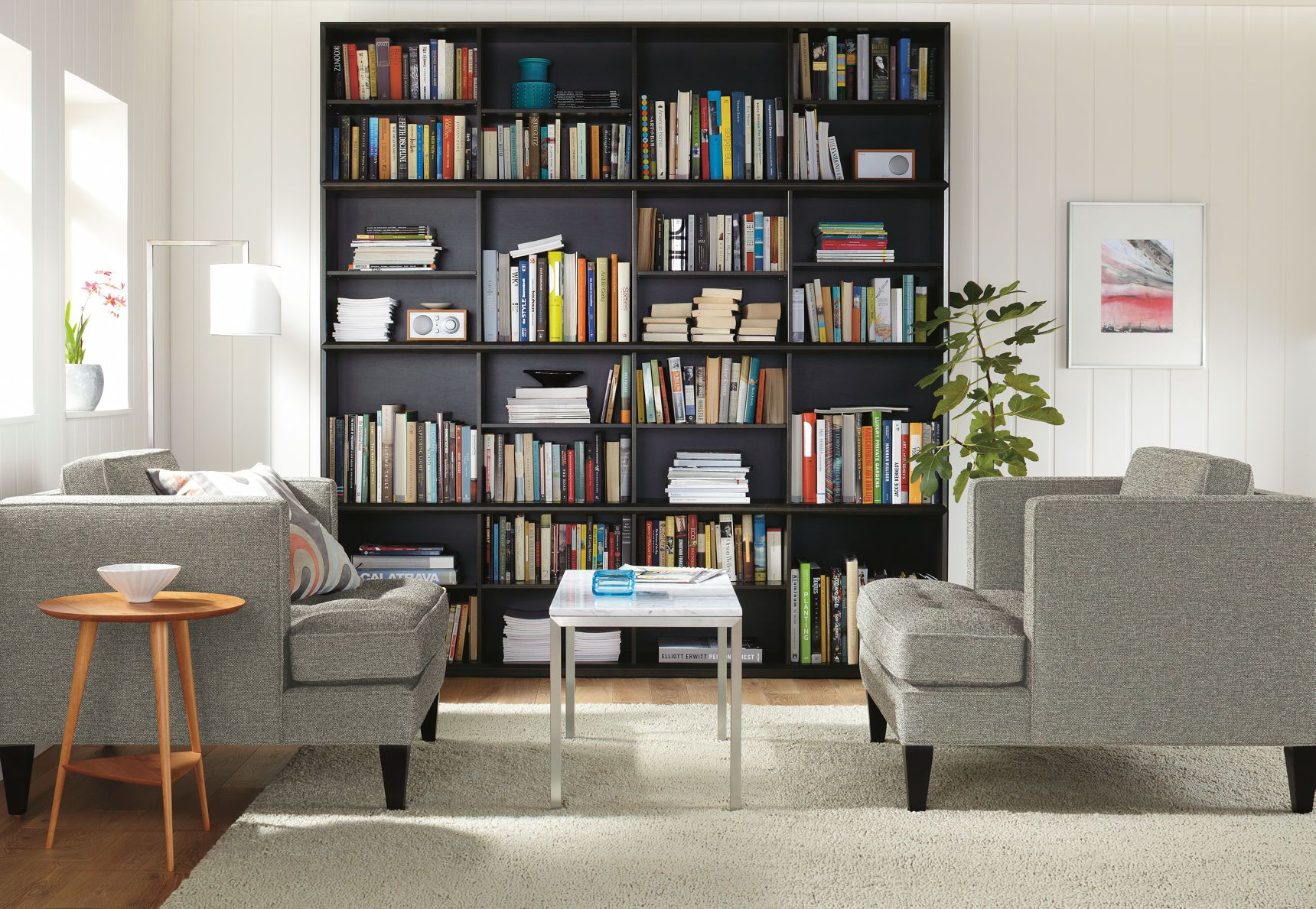 Rollins Modern Stacking Cubes Modern Bookcases Shelving