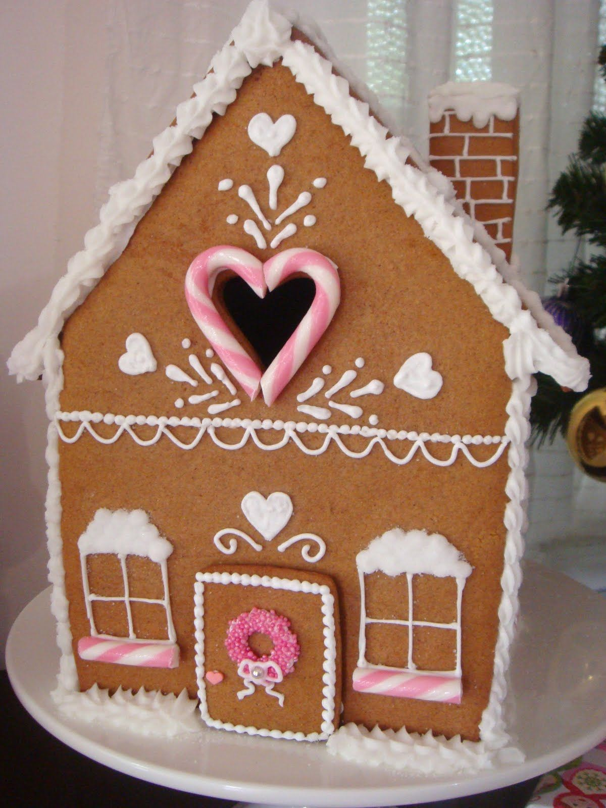 Premade Gingerbread Houses Butter Hearts Sugar Gingerbread House Part One Making And