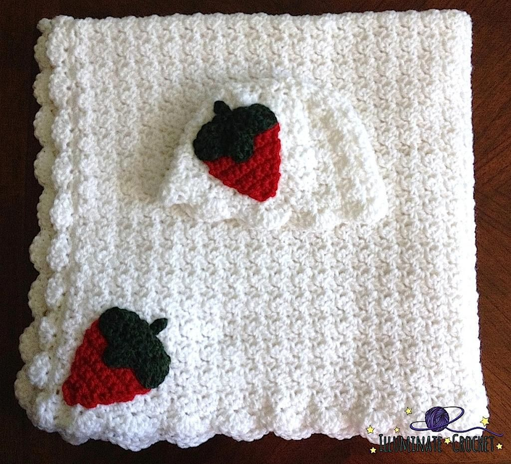 4) Name: \'Crocheting : Strawberries and Cream Baby Set | crochet ...