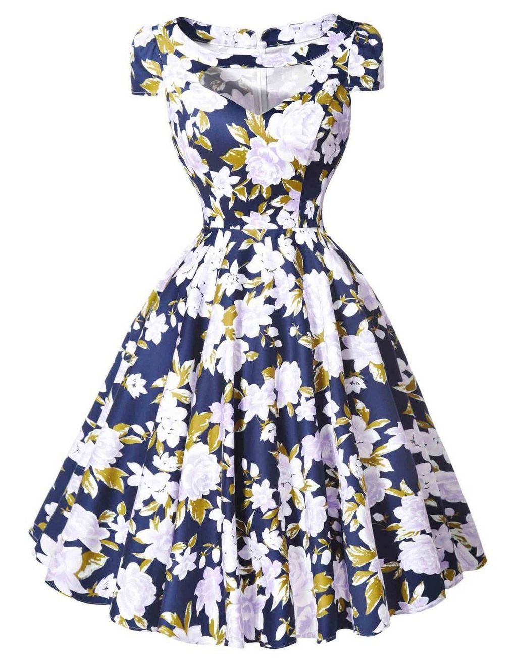 70+ Cute Casual Retro Dresses Inspired Women\'s Style