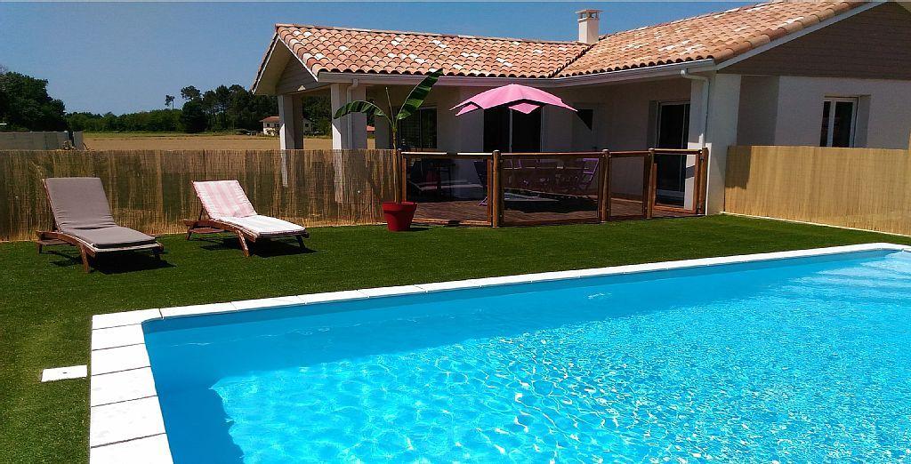 Abritel Location Capbreton Villa Piscine et spa, Meublé classé 4 - location maison cap ferret avec piscine