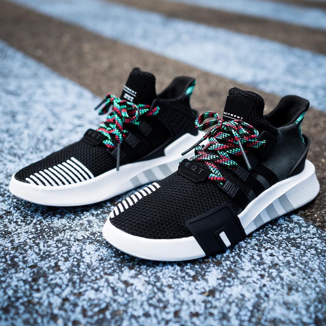 Adidas EQT Bask ADV Core Black Sub Green | Sneakers