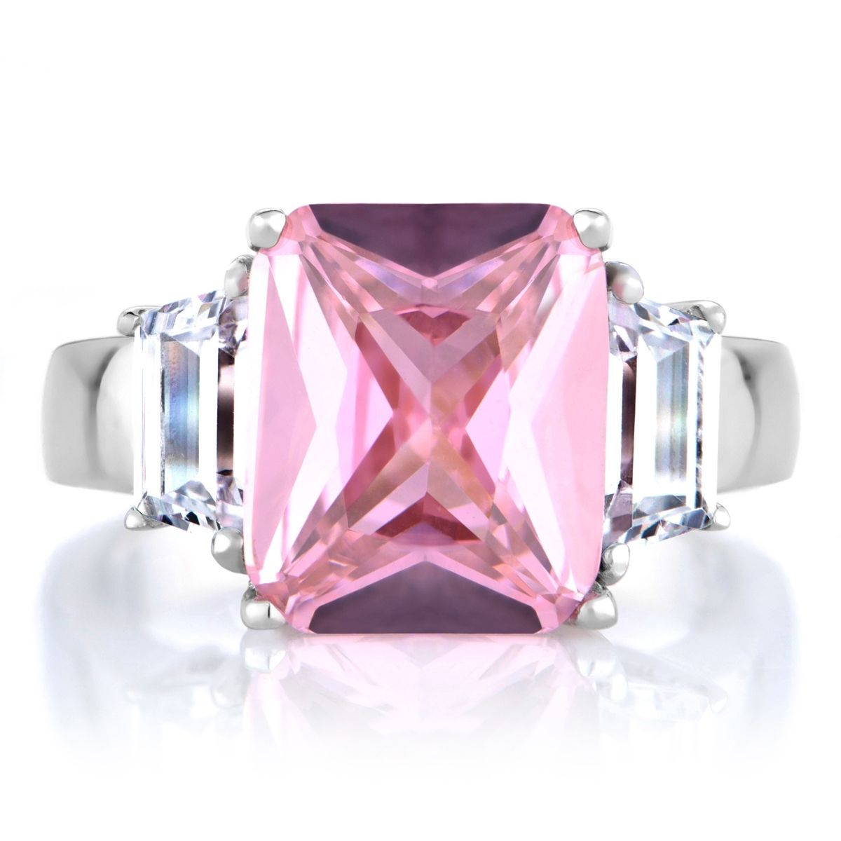 Jennifer Lopez Pink Diamond Ring Replica | Ring | Pinterest | Pink ...