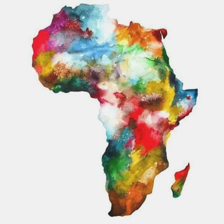 Africa Tattoo Carte Afrique Dessin Afrique