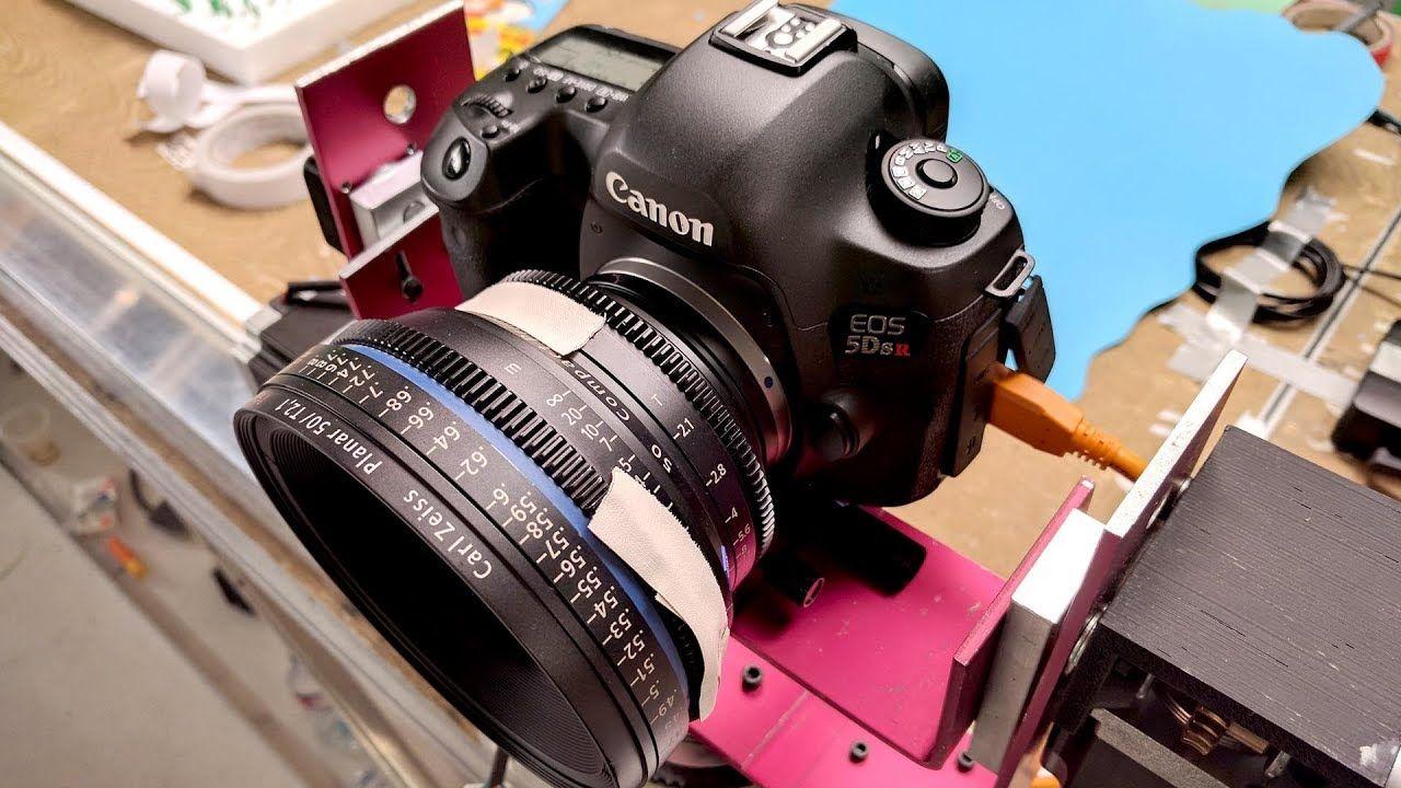 Making Giant Diy Camera Slider Stop Motion Camera Moves In