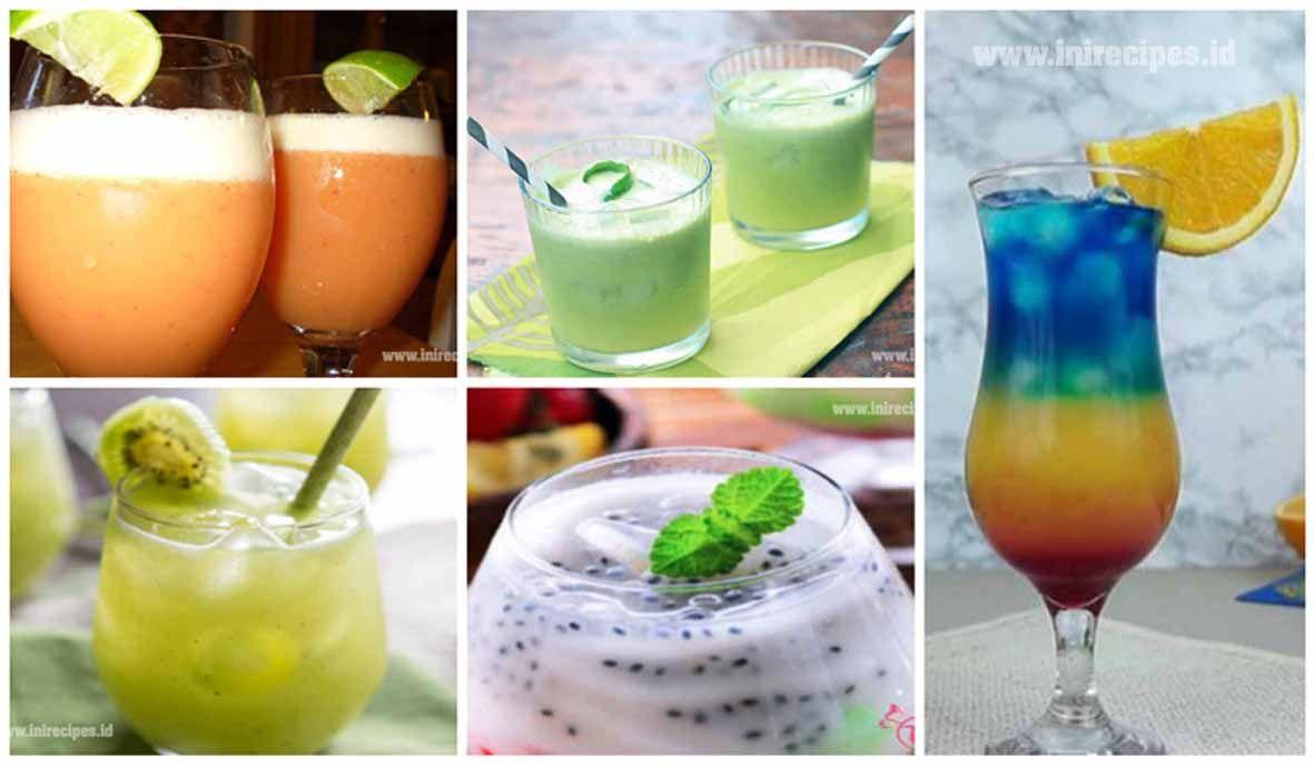 Kumpulan Resep Minuman Ala Cafe Yg Segar dan Praktis  Resep