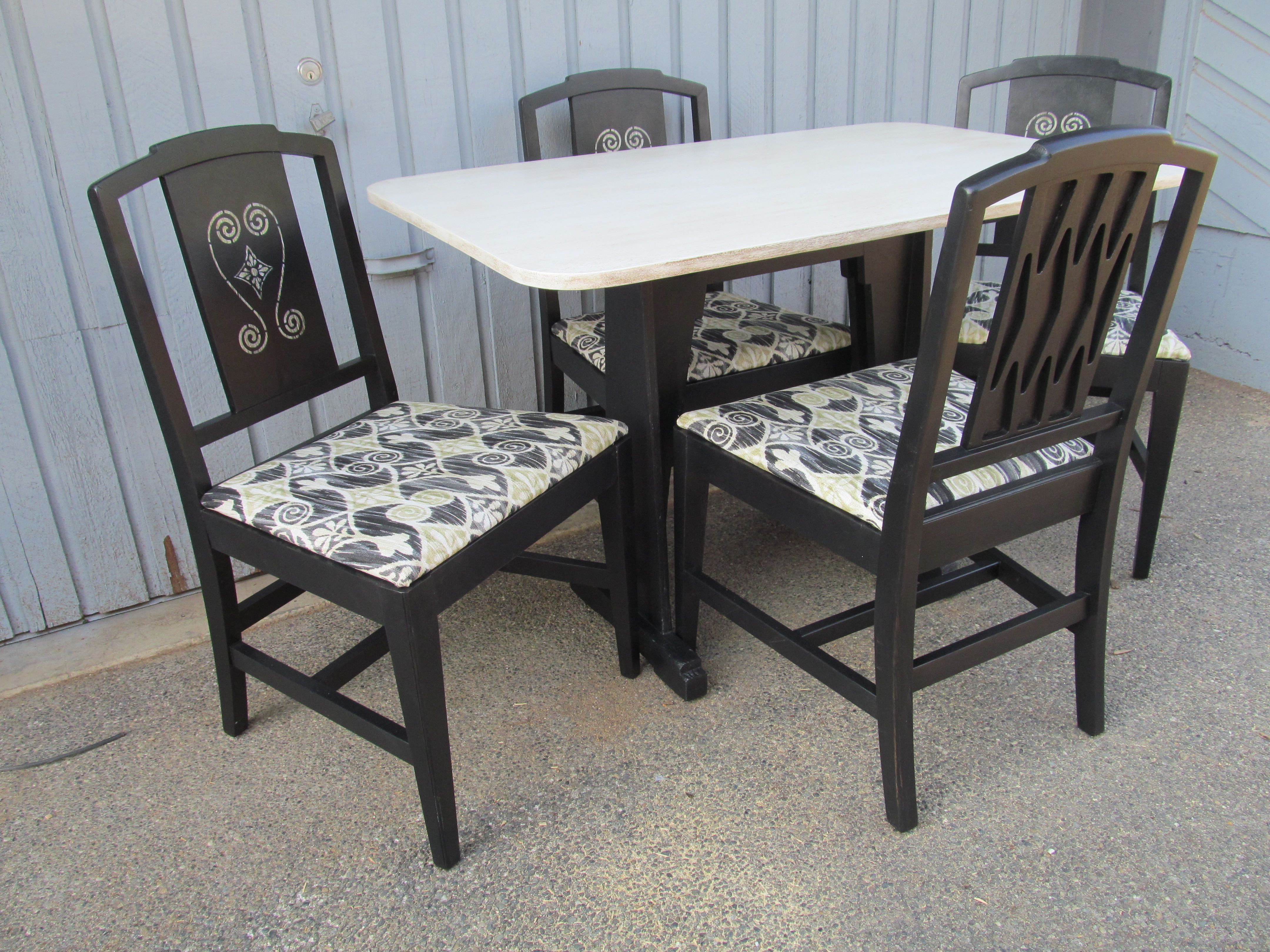 Prime Repurposed Dining Chairs Dining Table And Chairs After Unemploymentrelief Wooden Chair Designs For Living Room Unemploymentrelieforg