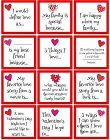 Valentine S Day Conversation Starters And Writing Prompts
