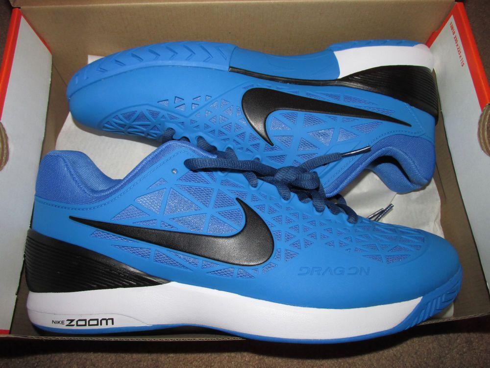 ebda5f2cca Nike Court Zoom Cage 2 Mens Tennis Shoes 11.5 Photo Blue Black 705247 402   Nike…