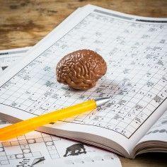 Brein voor noodgevallen van chocolade