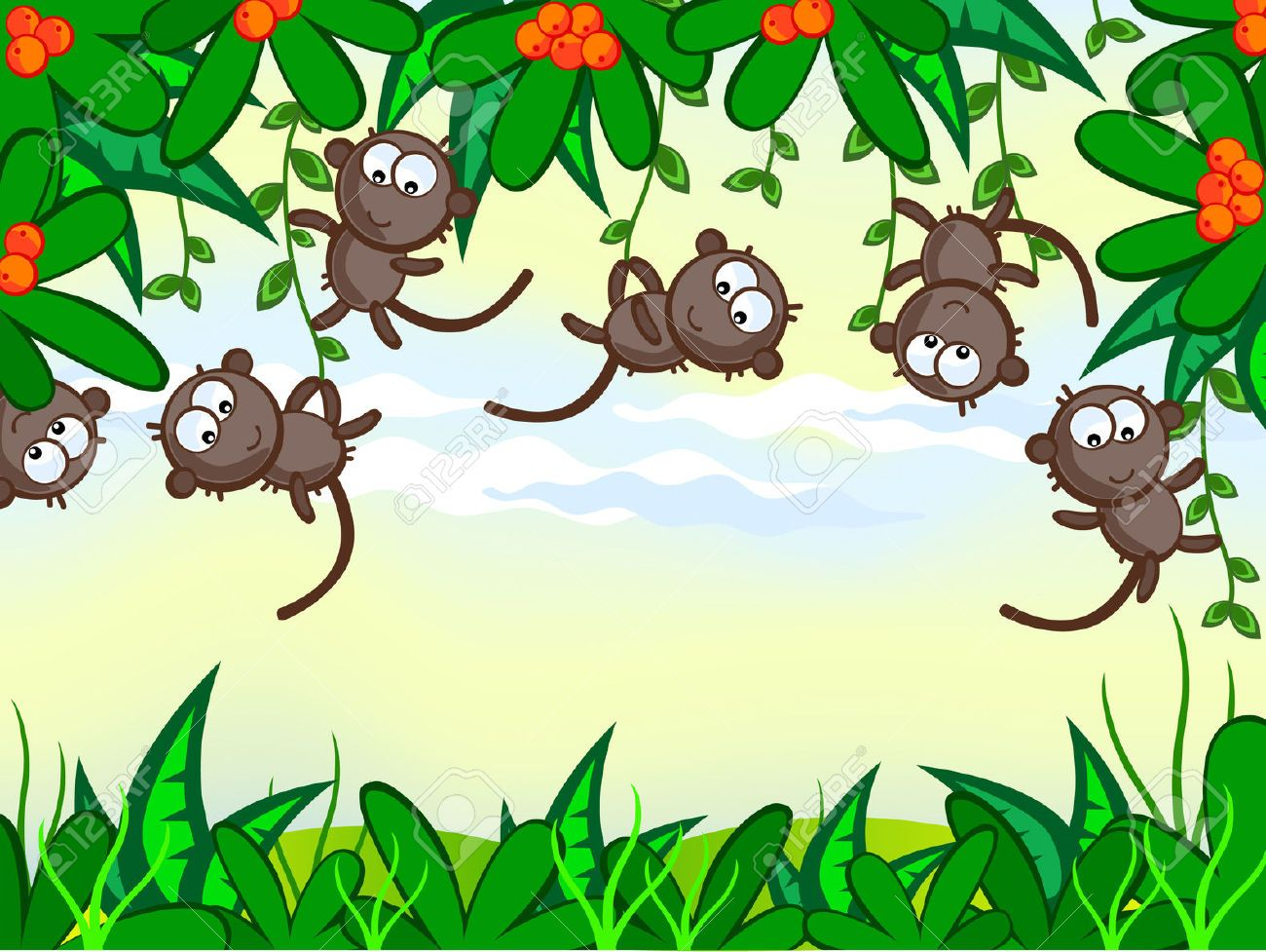 Cute monkey illustrations google search monkeys apes