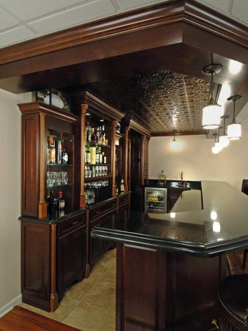 Basement Bar Ideas And Designs Pictures Options Tips: Bars For Home, Home Bar Designs, Basement Bar Design