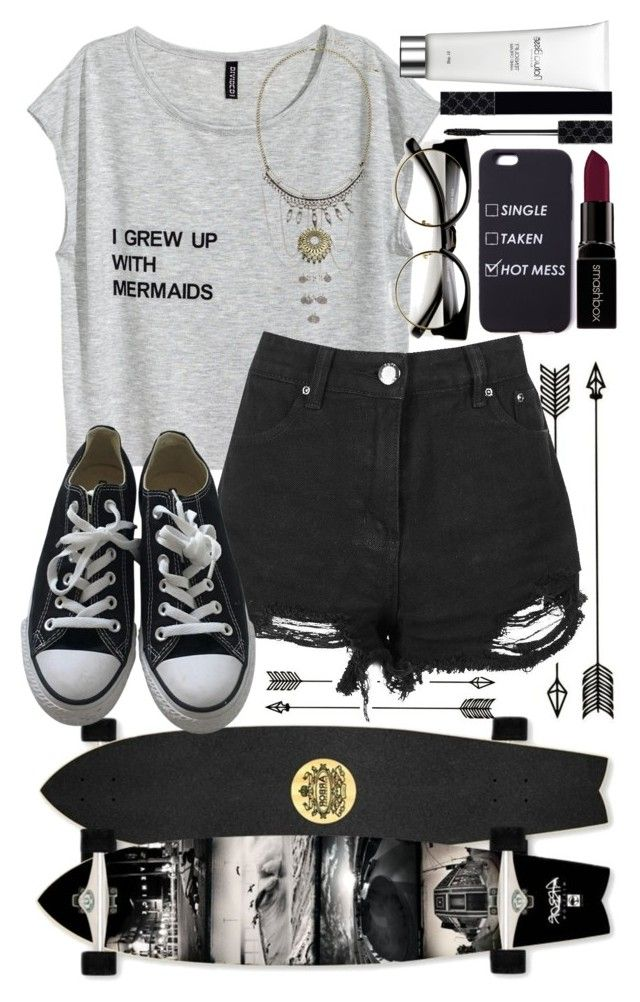 """""""•Summer's here•"""" by catherinetabor ❤ liked on Polyvore featuring Converse, Natura Bissé, Gucci and Smashbox"""