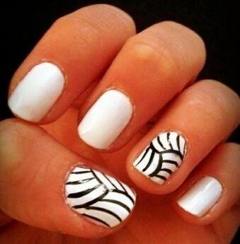 Volleyball Nail Design Volleyball Nails Nails White Nails