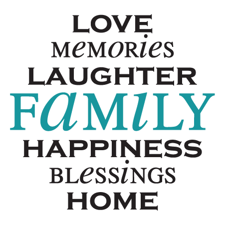 love memories laughter family happiness blessings home family wall