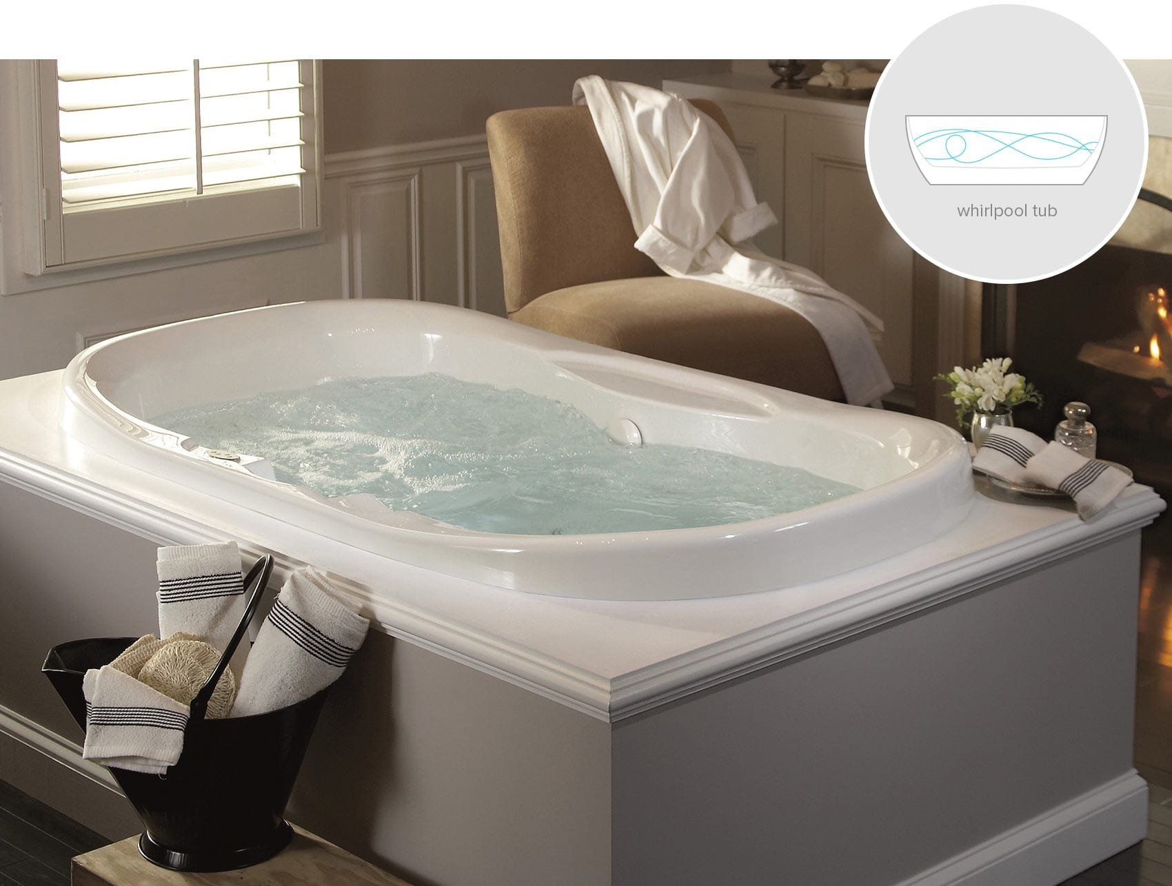 Air bath tubs vs whirlpool | ideas | Pinterest | Bathtub, Bathroom ...