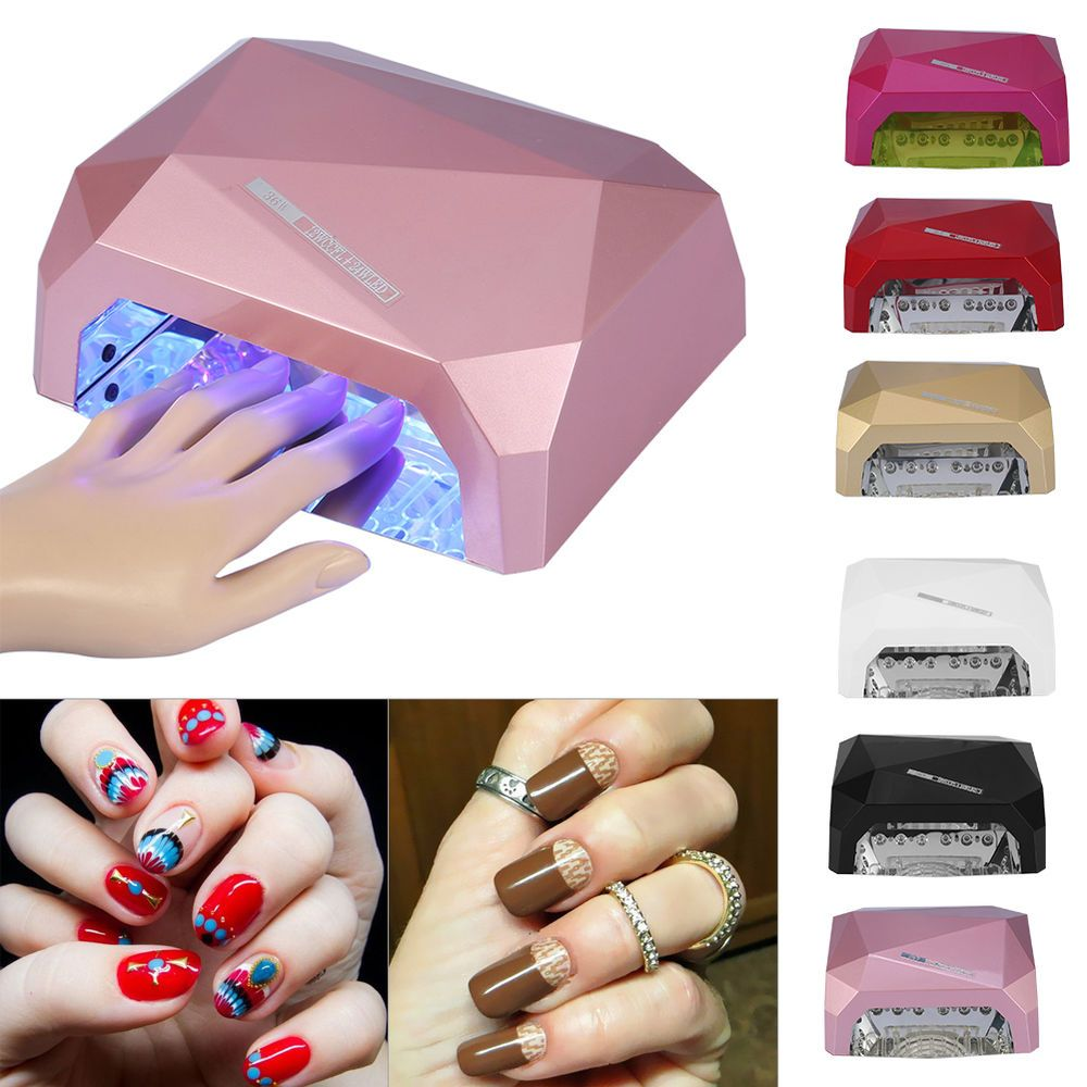 36W LED CCFL Nail Dryer Curing Lamp Machine for UV Nail