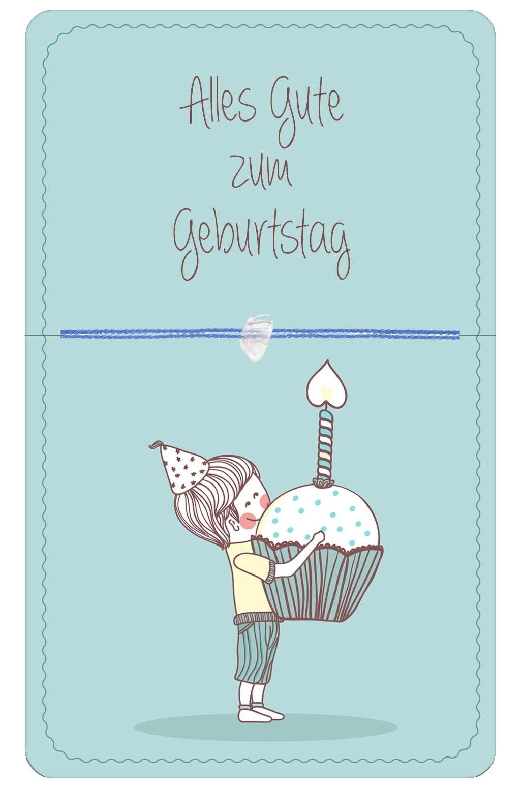 Alles Gute Zum Geburtstag Blau Happy Birthday