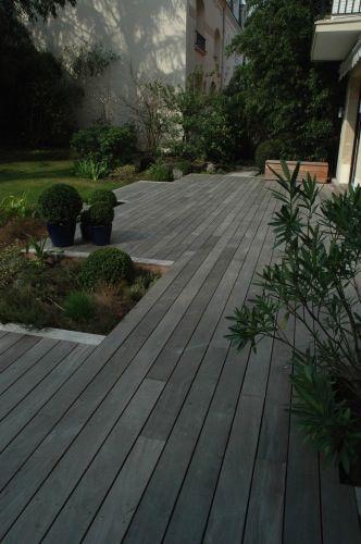 Terrasse en ipé grisée Yard Ideas Pinterest Tropical paradise