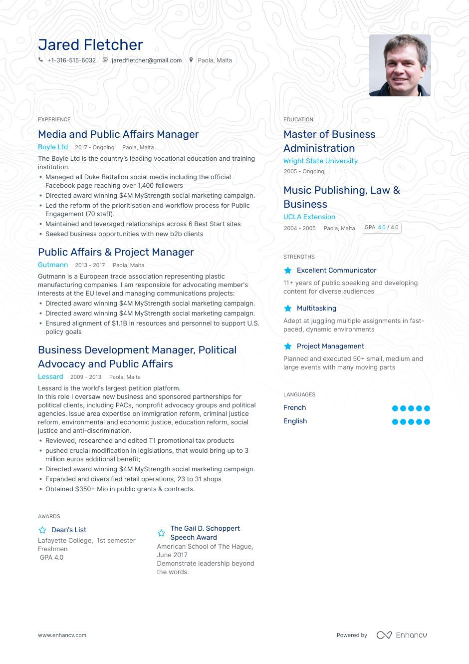Top Public Affairs Resume Examples & Samples for 2020