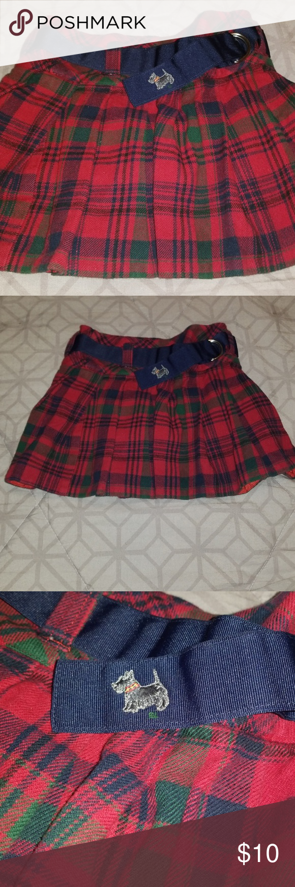 49384d3db Blue And Green Plaid Pleated Skirt | Saddha