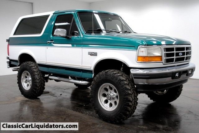 1996 Ford Bronco 4x4 I Don T Entirely Understand Why I Have