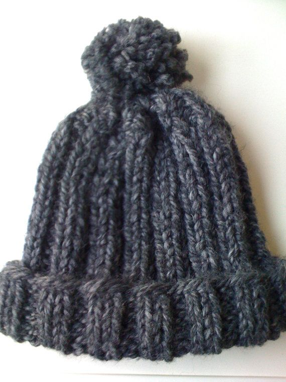 knit hat by acornandarrow on Etsy, $30.00