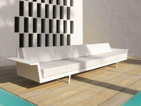 Designer Outdoor Möbel vondom 5 sitzer sofa flat die perfekten outdoor möbel