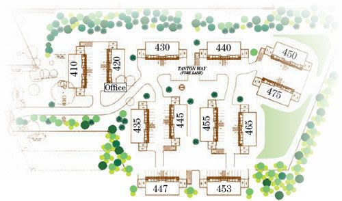 Bay Pines Apartment Homes - Complex Layout | WIP: Black ...