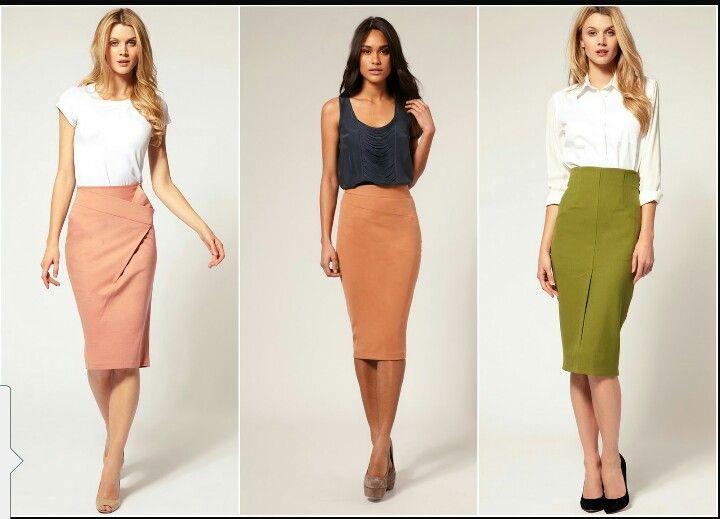 6f1502112 Faldas bajo las rodillas | Cute and Modest outfits en 2019 | Faldas ...