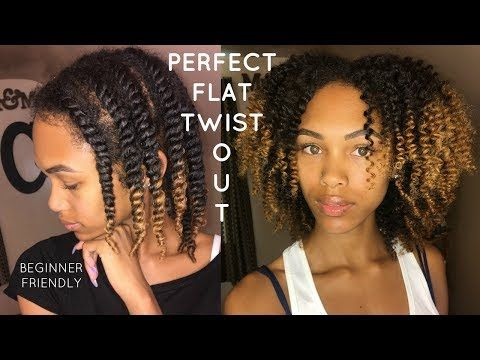 Easiest Way To Flat Twist Step By Step Flat Twist Out For Beginners Youtube Natural Hair Twist Out Twist Hairstyles Transitioning Hairstyles