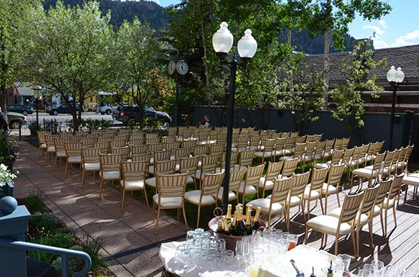 Weddings At The Hotel Jerome In Aspen Co With Images Wedding