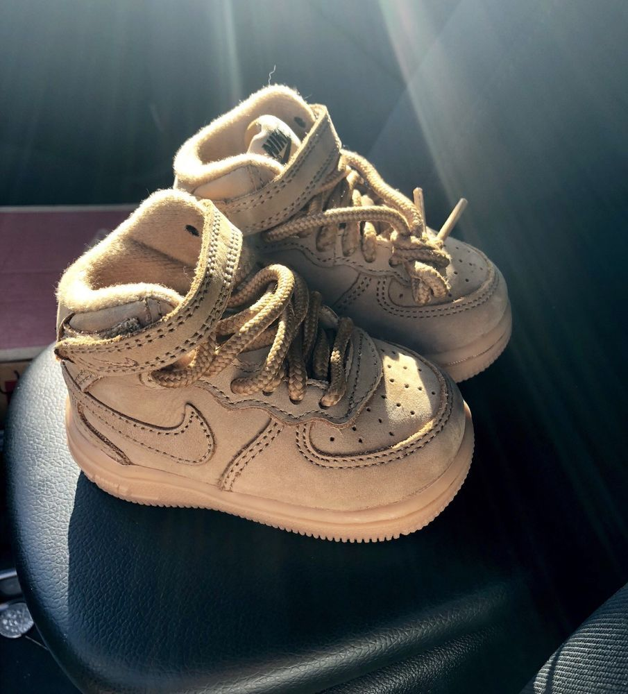Mid LV8 Wheat/Gum Toddler Shoes