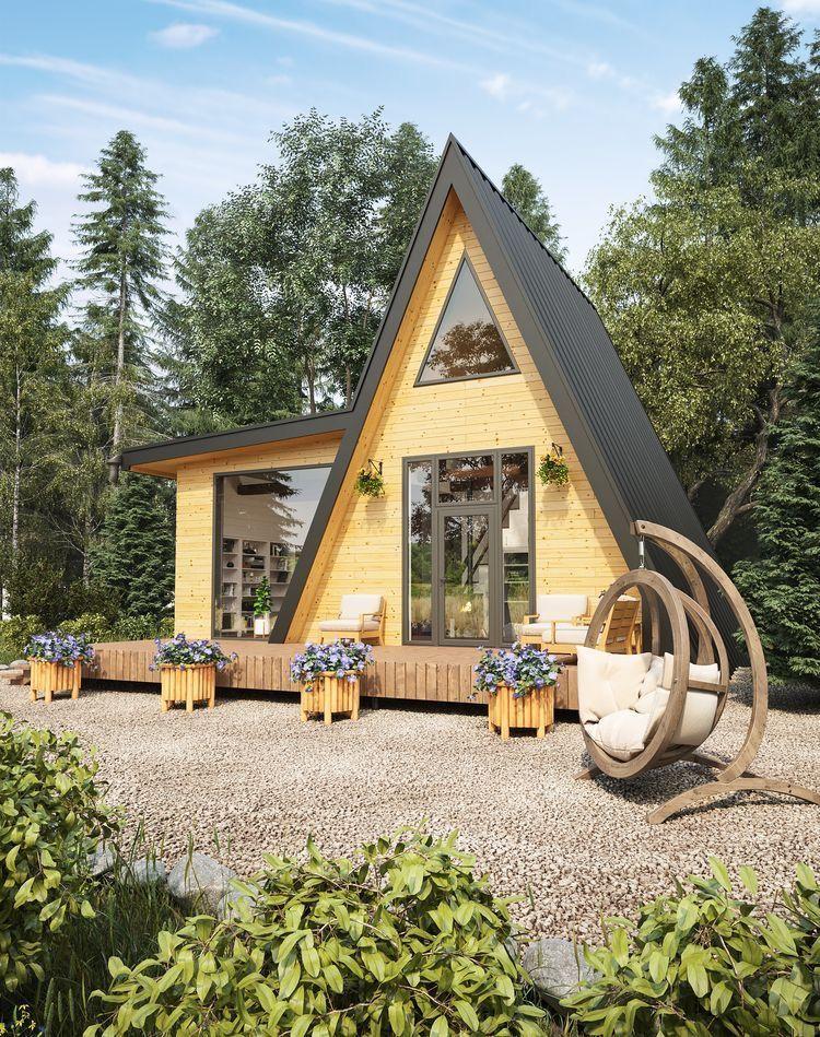 Minimalist And Modern A Frame Houses Design Ideas A Frame House