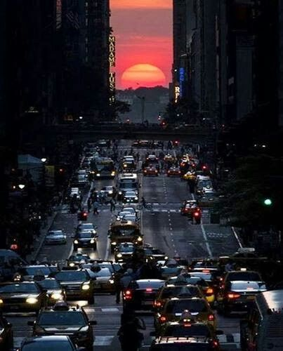 Sunset at Manhattan