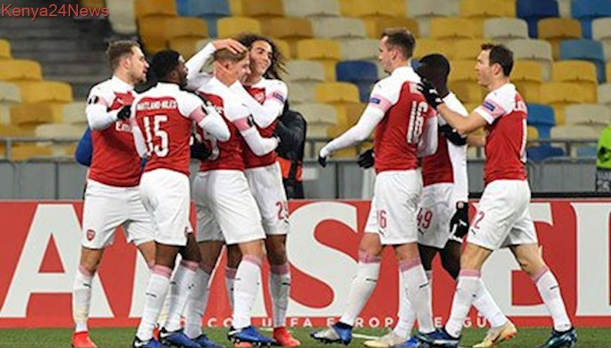 Arsenal and Chelsea power on in Europa League Europa