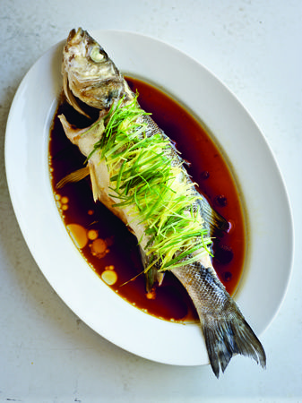 Chinese New Year Recipe: Steamed Sea Bass with Ginger and ...