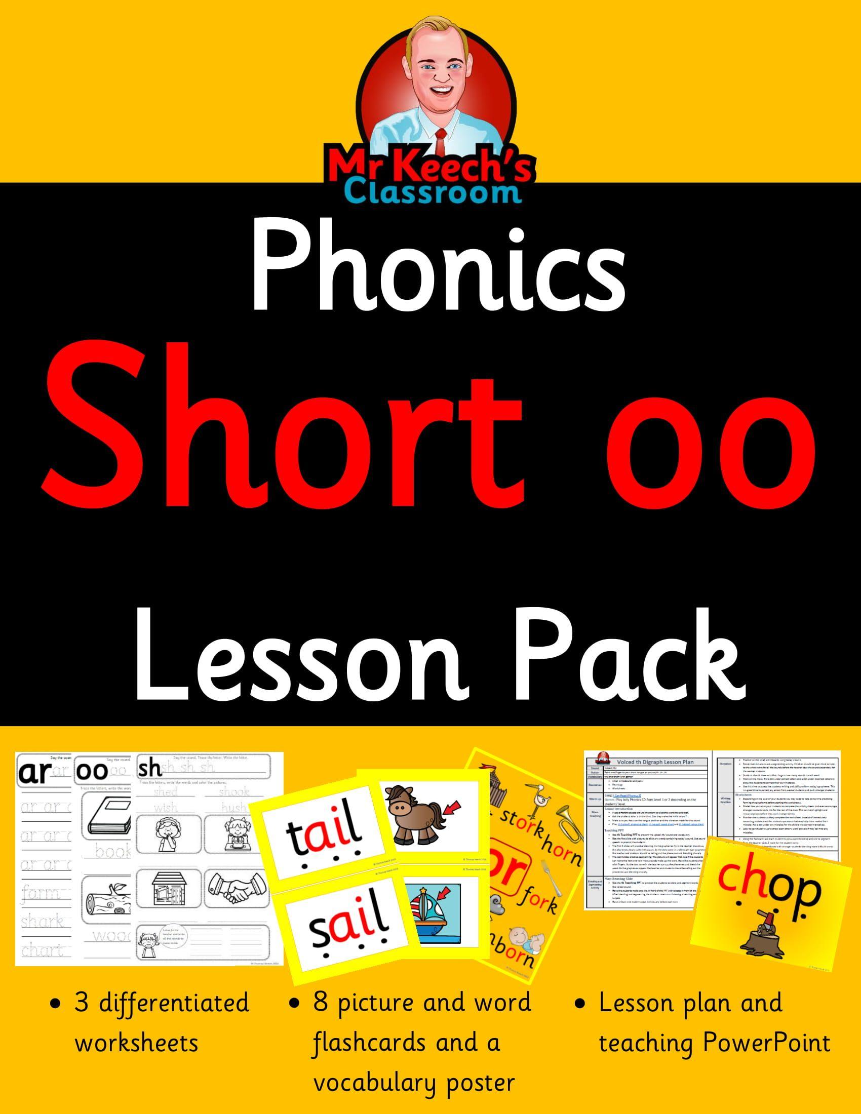 Phonics Worksheets Flashcards