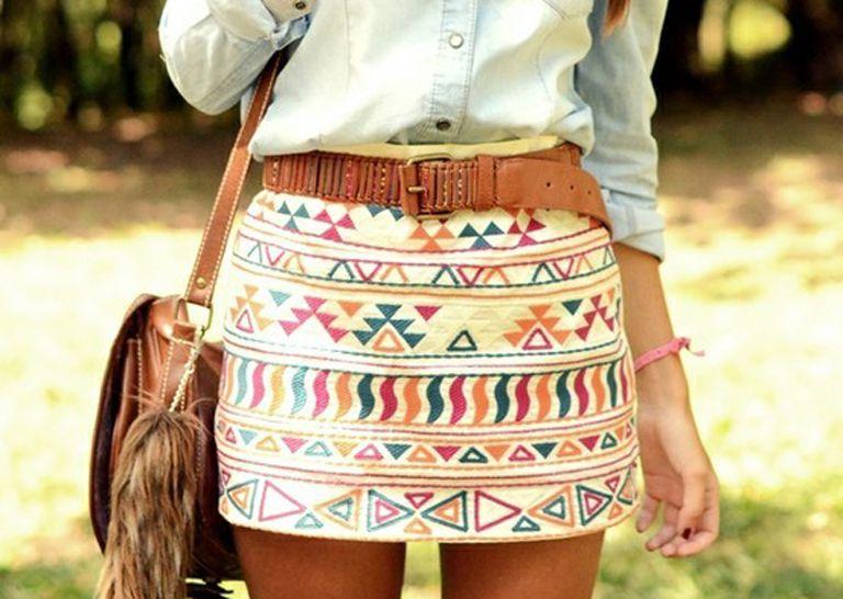 El estampado étnico sigue siendo una de las opciones estrella cada vez que viene la primavera. #print #fashion