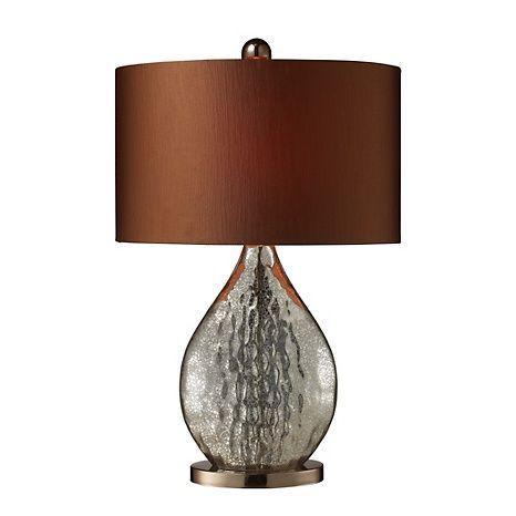"23"" Sovereign Mercury Glass Table Lamp"