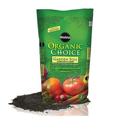 Miracle Gro Organic Choice Garden Soil 2 Cu Ft At Lots 8 00 Xox 28 2016
