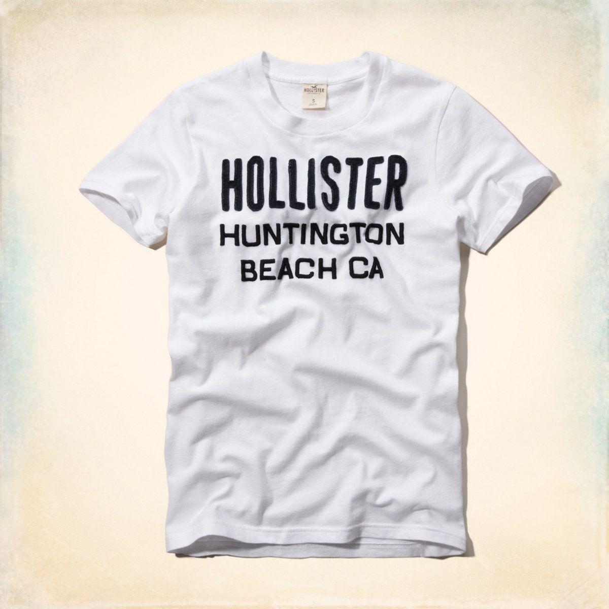 Hollister Camiseta Masculina Adulto Ramona Branca R  99  b17bc7bf2b347