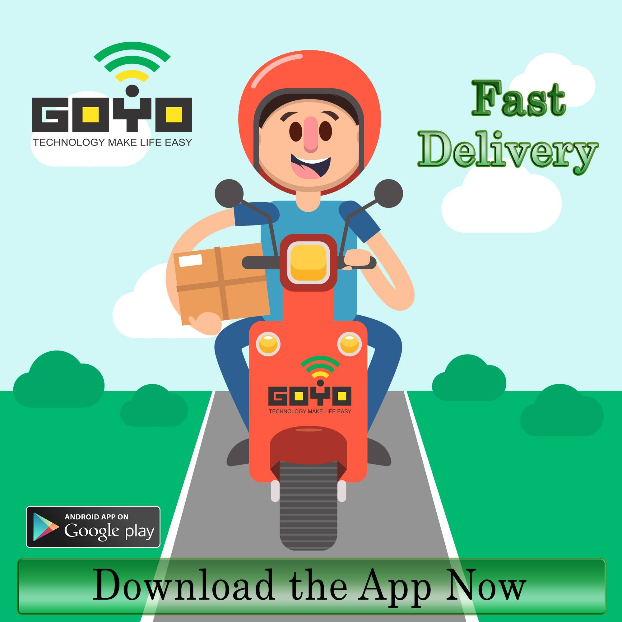 Fastest Home Delivery Service Provided By Us Goyo Technologies