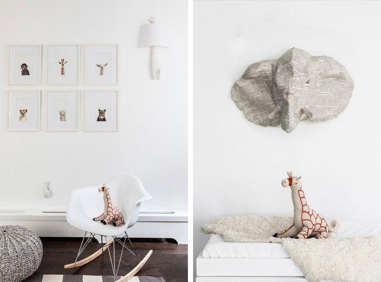 ideeën en design » kinderkamer thema dieren - inspirerende foto's, Deco ideeën