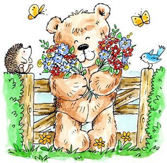 Penny Black The Teddy Effect! - Rubber Stamp 4028H - 123Stitch.com