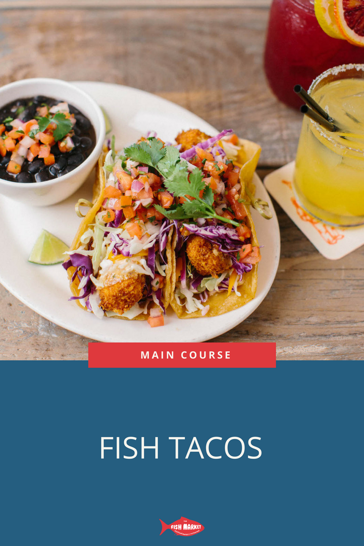 Our Fish Tacos Are Filled With Crispy Ono And Served With Ranchero