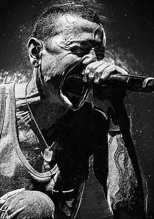 Chester Bennington /_ Linkink Park 22 Legendary Rock Music Band Singer Poster