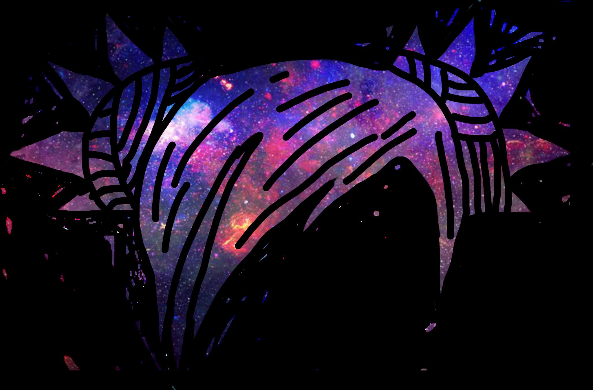 Not My Best Galaxyhair Hair Gacha Purple Black Freetoedit Remixit Anime Wolf Girl Manga Clothes Cute Kawaii Drawings